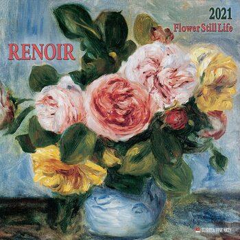 Calendário 2021 Renoir - Flower Still Life
