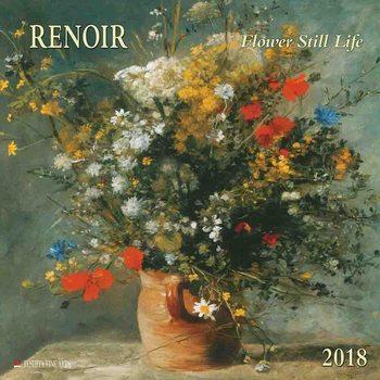 Calendário 2018  Renoir - Flowers