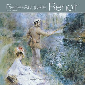 Calendário 2019  Renoir