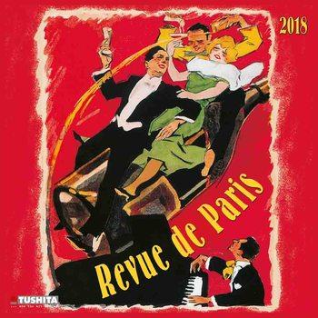 Calendário 2018 Revue de Paris