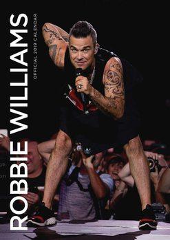 Calendário 2019  Robbie Williams