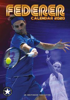 Calendário 2020  Roger Federer