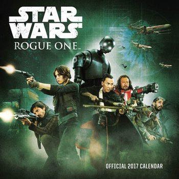 Calendário 2017 Rogue One: A Star Wars Story