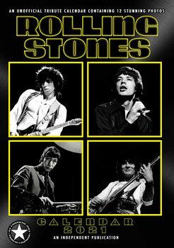 Calendário 2021 Rolling Stones