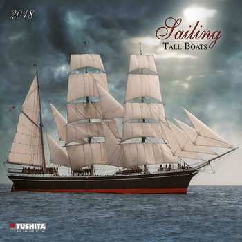 Calendário 2018 Sailing tall Boats
