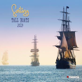 Calendário 2019  Sailing tall Boats