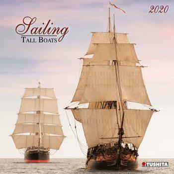 Calendário 2020  Sailing tall Boats