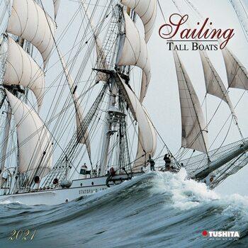 Calendário 2021 Sailing - Tall Boats