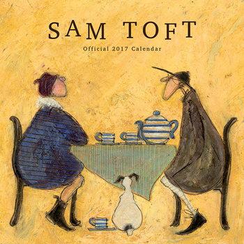 Calendário 2017 Sam Toft
