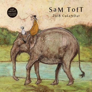 Calendário 2018 Sam Toft