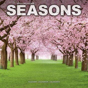 Calendário 2018 Seasons
