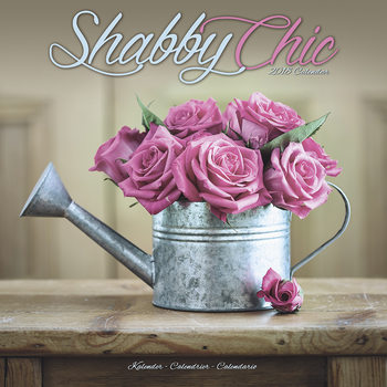 Calendário 2018 Shabby Chic