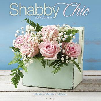 Calendário 2019  Shabby Chic