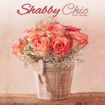 Calendário 2020  Shabby Chic