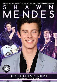 Calendário 2021 Shawn Mendes