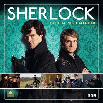 Calendário 2021 Sherlock Holmes