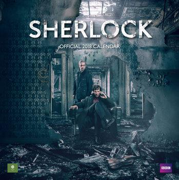 Calendário 2018 Sherlock