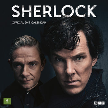 Calendário 2019  Sherlock