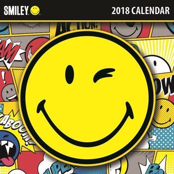 Calendário 2018 Smiley