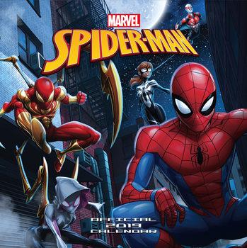 Calendário 2019  Spiderman