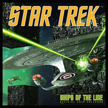 Calendário 2019  Star Trek - Ships Of The Line