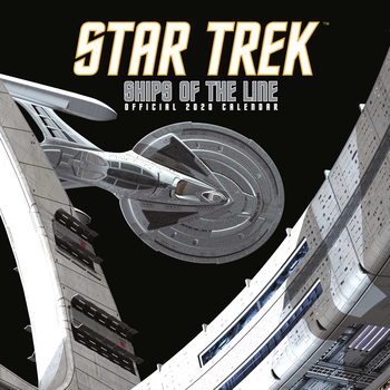Calendário 2020  Star Trek: Ships Of The Line