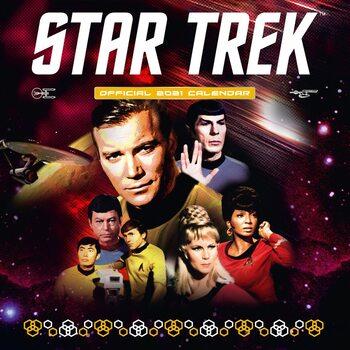 Calendário 2021 Star Trek - TV series - Classic