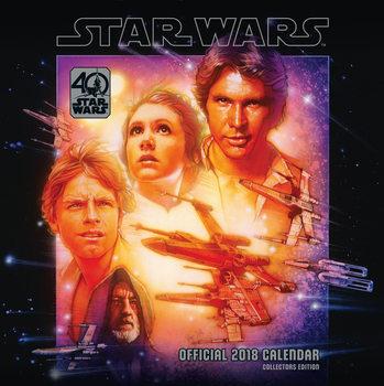Calendário 2018 Star Wars 40Th Anniversary