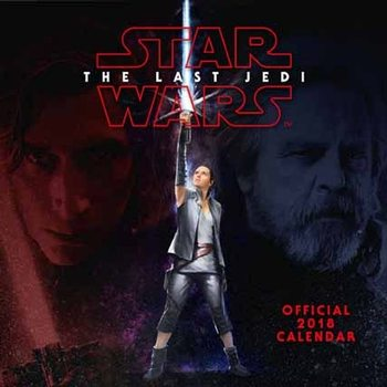 Calendário 2018 Star Wars: Episode 8 The last Jedi