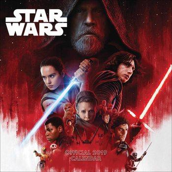 Calendário 2019  Star Wars – Episode 8 The Last Jedi