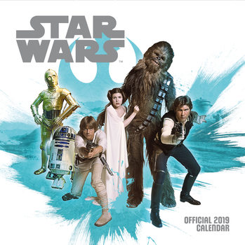 Calendário 2019  Star Wars