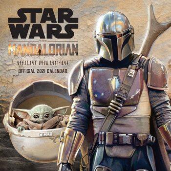 Calendário 2021 Star Wars: The Mandalorian
