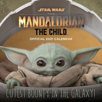 Calendário 2021 Star Wars: The Mandalorian - The Child (Baby Yoda)