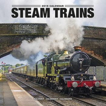 Calendário 2019  Steam Trains