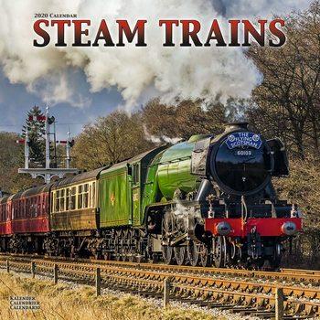 Calendário 2020  Steam Trains