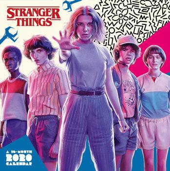 Calendário 2020  Stranger Things