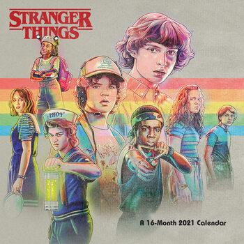 Calendário 2021 Stranger Things