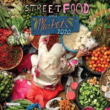 Calendário 2020  Street Food
