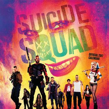 Calendário 2017 Suicide squad
