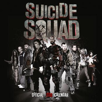 Calendário 2018 Suicide Squad