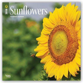Calendário 2018 Sunflowers