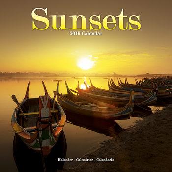 Calendário 2019  Sunsets