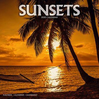 Calendário 2020  Sunsets