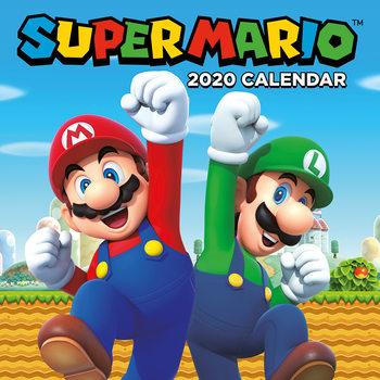Calendário 2020  Super Mario