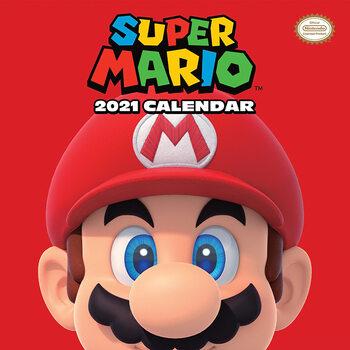 Calendário 2021 Super Mario