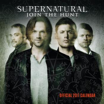 Calendário 2017 Supernatural