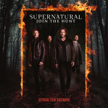 Calendário 2018 Supernatural