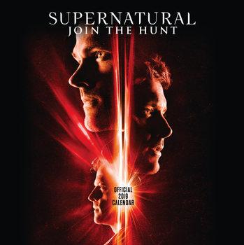 Calendário 2019  Supernatural