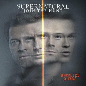 Calendário 2020  Supernatural