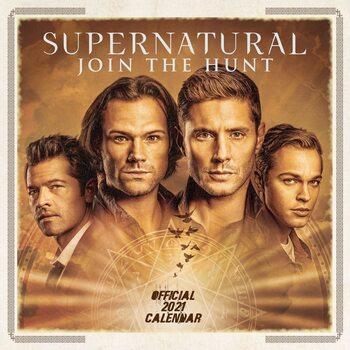 Calendário 2021 Supernatural